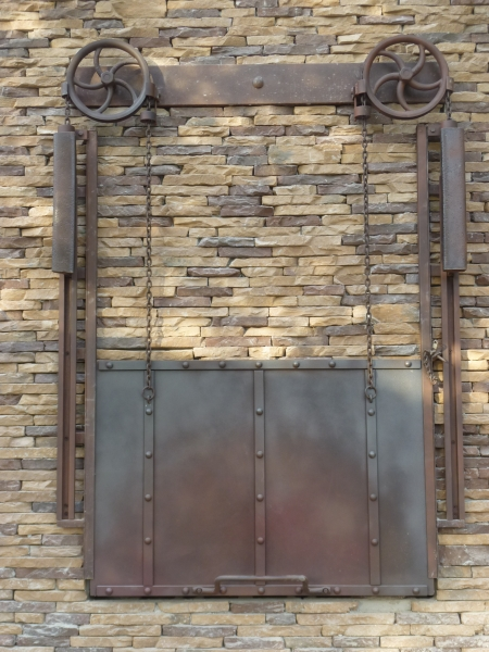 Architectural Elements From Steel Welding